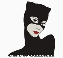 Catwoman retro by LauraMSS