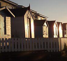 Beach Huts Westward Ho! by grandoldduke