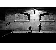 City of Darkness Photographic Print