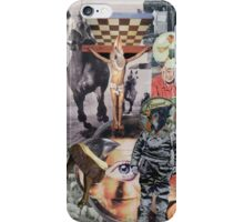 At the Races. iPhone Case/Skin