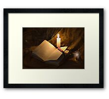Bell, Book, and Candle Framed Print