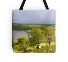 Evening Sun On The Hayfield.................Ireland Tote Bag