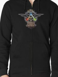 ark survival of the fittest  Zipped Hoodie