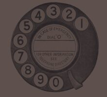 Telephone Dial Kids Clothes