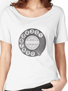 Telephone Dial Women's Relaxed Fit T-Shirt