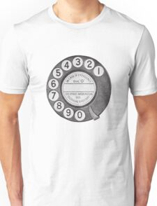 Telephone Dial Unisex T-Shirt