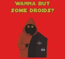 Wanna buy some droids? Kids Tee