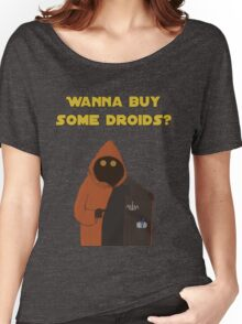 Wanna buy some droids? Women's Relaxed Fit T-Shirt