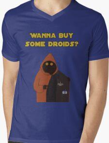 Wanna buy some droids? Mens V-Neck T-Shirt