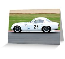 Lotus Elite No 23 Greeting Card