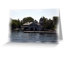 St. Lawrence Seaway/Thousand Islands #1 Greeting Card