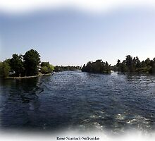 St. Lawrence Seaway/Thousand Islands #3 by Rose Santuci-Sofranko