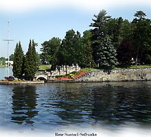 St. Lawrence Seaway/Thousand Islands #5 by Rose Santuci-Sofranko