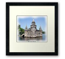 St. Lawrence Seaway/Thousand Islands #12 - Boldt Castle Framed Print
