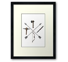 ark survival evolved Arrow Framed Print