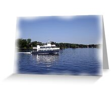 St. Lawrence Seaway/Thousand Islands #14 Greeting Card