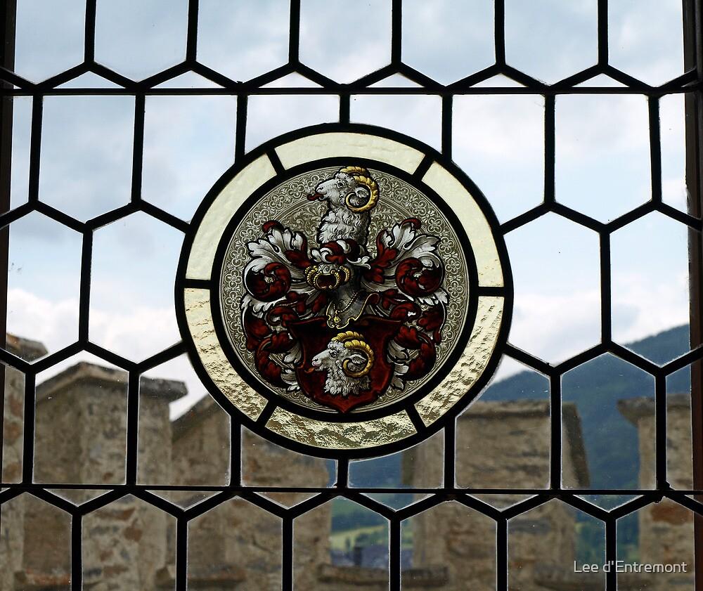 Schloss Mauterndorf Window. by Lee d'Entremont