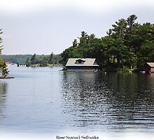 St. Lawrence Seaway/Thousand Islands #18 by Rose Santuci-Sofranko