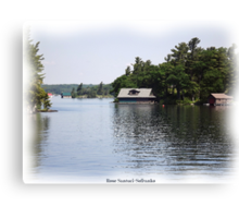 St. Lawrence Seaway/Thousand Islands #18 Canvas Print