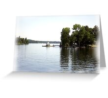 St. Lawrence Seaway/Thousand Islands #21 Greeting Card