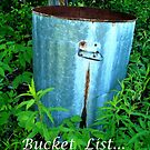 Bucket List... by linmarie