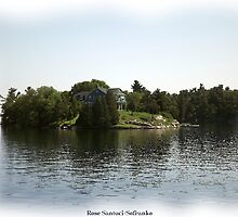St. Lawrence Seaway/Thousand Islands #25 by Rose Santuci-Sofranko