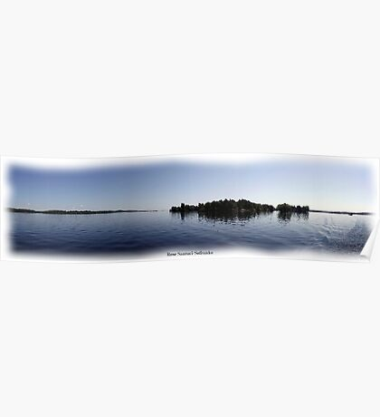 St. Lawrence Seaway/Thousand Islands #26 (Panoramic View) Poster
