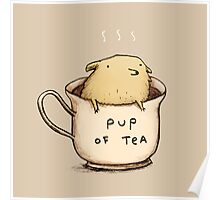 Pup of Tea Poster