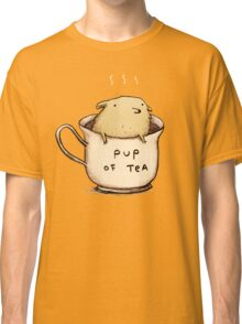 Pup of Tea Classic T-Shirt