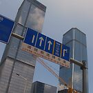 Shenzhen: cranes, signs and skyscrapers (China) by Chris Millar