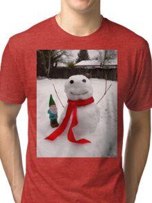 Frozen Friends Gnome Tri-blend T-Shirt