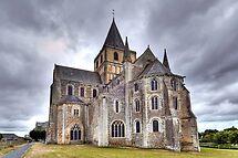 Church of Saint-Vigor de Cerisy-la-Forêt by paolo1955