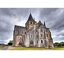 Church of Saint-Vigor de Cerisy-la-Forêt Photographic Print