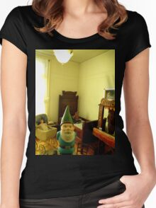 Play Gnome Women's Fitted Scoop T-Shirt