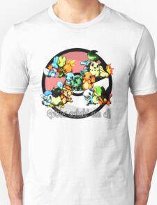 POKEMON STARTERS !! ^^ T-Shirt