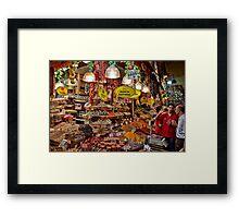 Turkey. Istanbul. Spice Market. Framed Print