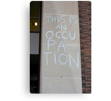 Occupation Metal Print