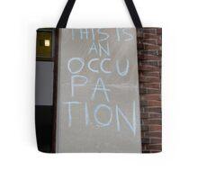 Occupation Tote Bag