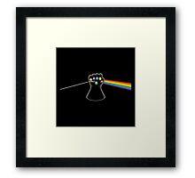 Dark Side of Infinity Framed Print