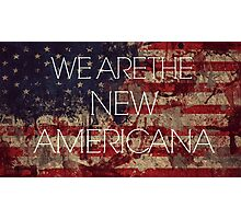 We Are The New Americana II Photographic Print