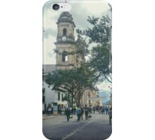 Cathedral at Historic Center of Bogota Colombia iPhone Case/Skin