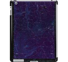 USGS Topo Map Oregon Pinhead Buttes 281100 1986 24000 Inverted iPad Case/Skin