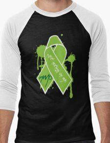 NMO Ribbon Men's Baseball ¾ T-Shirt