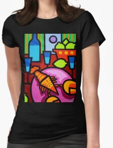 Still Life At Window Womens Fitted T-Shirt