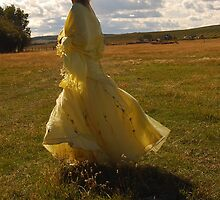 That Yellow Dress by AylaM