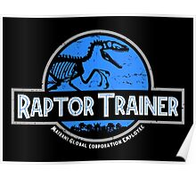 Jurassic World Raptor Trainer Poster