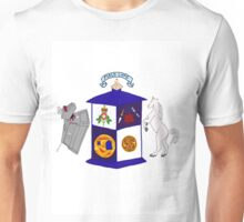 The Doctor's Coat Of Arms : Inspired by the 50th anniversary special Unisex T-Shirt