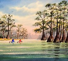 Canoeing The Suwannee  by bill holkham