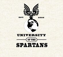 I graduated from the UNIVERSITY OF THE SPARTANS! Zipped Hoodie