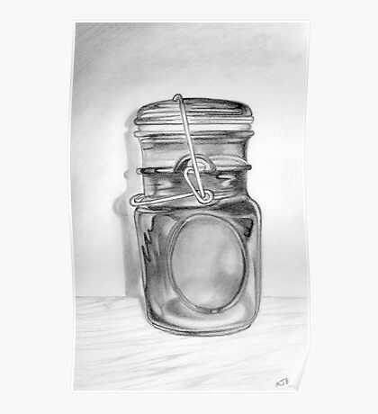 Canning Jar Poster
